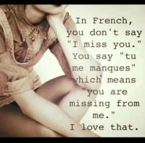 You Are Missing From Me Simplygiselle